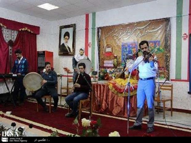 بخش موسیقی جشنواره منطقه ای خاتون خورشید در گناباد برگزار شد