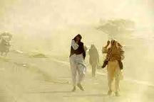 وزش باد 90 کیلومتری در سیستان و بلوچستان  طوفان گردوخاک و کاهش کیفیت هوا