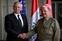 ماموریت وزیر دفاع آمریکا در کردستان عراق