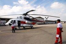 اعزام 6 ماموریت امداد هوایی در چهارمحال و بختیاری توسط هلال احمر