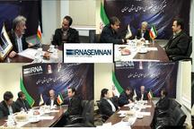 میزگرد دستاوردهای دولت تدبیر و امید در خبرگزاری ایرنا سمنان برگزار شد