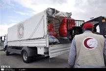 کمکهای هلال احمر سبزوار به مناطق سیل زده مازندران ارسال شد