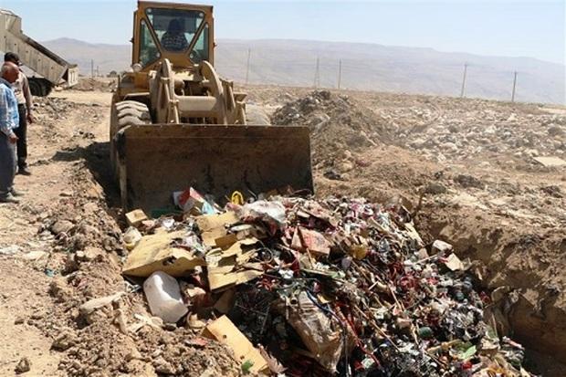 10 تن مواد غذایی فاسد در مرودشت نابود شد
