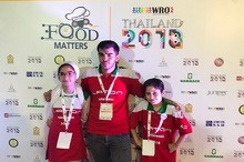 مهندسان کوچک تبریزی مقام چهارم مسابقات تایلند را کسب کردند