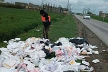 زباله مهمان ناخوانده جاده های قائمشهر