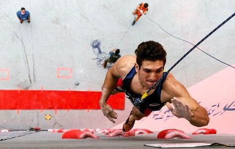 صخره نورد ایرانی، برترین ورزشکار سال جهان در theworldgames