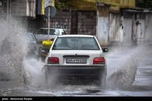 وقوع رگبار باران و مه موقت در برخی مناطق اردبیل