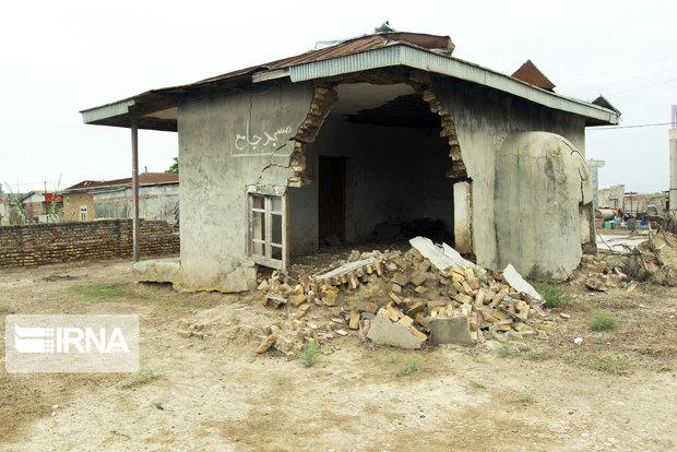 ۲۴ فقره تسهیلات ساخت مسکن به سیلزدگان روستای پنو گالیکش پرداخت شد
