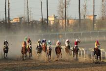 هفته 35 مسابقات اسبدوانی گنبدکاووس برگزار شد