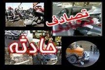 حادثه رانندگی در محور اراک - ازنا یک کشته به جا گذاشت