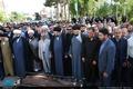 مراسم تشییع  پدر حجت الاسلام و المسلمین آشتیانی
