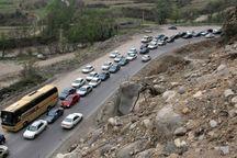 ترافیک در محورهای هراز و کندوان پرحجم شد