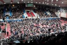 گردهمایی بزرگ جانبازان در مشهد برگزار شد