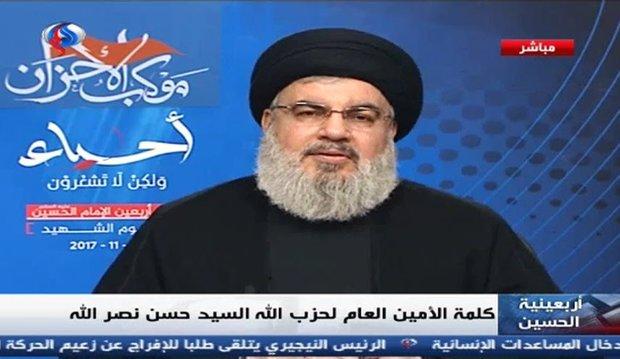 سیدحسن نصرالله: الحریری در عربستان بازداشت و از بازگشت به لبنان منع شده است/ سعودی ها شکستشان در یمن را با متهم ساختن ایران و حزب الله توجیه می کنند/ عربستان آماده اعطای میلیاردها دلار به اسراییل برای حمله به لبنان است