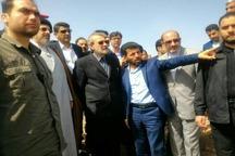 لاریجانی: ساخت سیل بندهای اصولی باید در دستور کار باشد