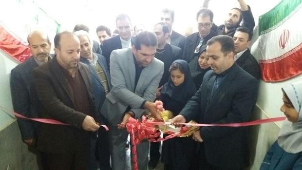 خانه ورزش روستای شوشاب ملایر افتتاح شد