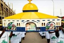 عکس/ راهپیمایی روز قدس در نیجریه