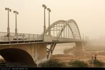 پیش بینی گرد و غبار در نوار مرزی خوزستان