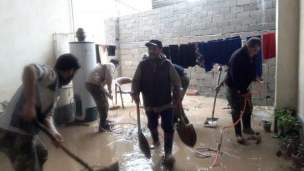 باران اخیر به بیش از 600 منزل در نکا خسارت وارد کرد