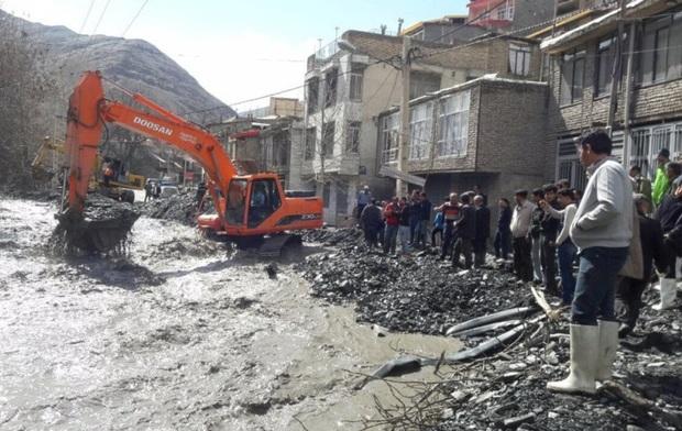 تاسیسات آب 130 روستای خراسان رضوی بر اثر سیلاب خسارت دید