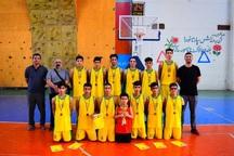 شیراز قهرمان رقابت های بسکتبال نوجوانان فارس شد