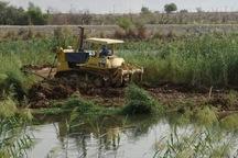 لایروبی رودخانه کارون در گتوند آغاز شد