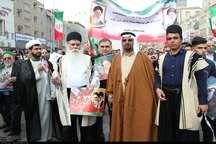 حاشیه های راهپیمایی 22 بهمن در اهواز