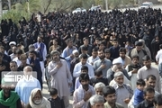 مردم سیستان و بلوچستان در اربعین حسینی به سوگ نشستند