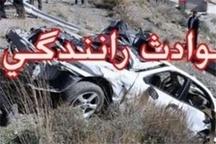 واژگونی خودرو پژو 405 یک کشته برجای گذاشت