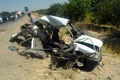 چهار کشته و ۲ مصدوم  در تصادف  نیسان و پراید در کوهیخیل جویبار