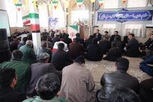 جشن انقلاب در روستای «چشمه میران» جوانرود برگزارشد