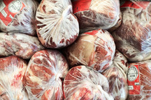 متخلفان عرضه گوشت منجمد در همدان جریمه شدند