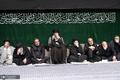 آخرین شب مراسم عزاداری حضرت اباعبدالله الحسین(ع) در حسینیه امام خمینی(ره)
