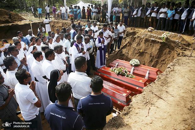 842 کشته و زخمی در حملات سریلانکا