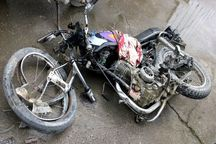 برخورد پراید با موتورسیکلت در تربت جام یک کشته داشت