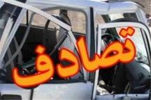 تصادف زنجیره ای در جاده فیروزکوه - تهران