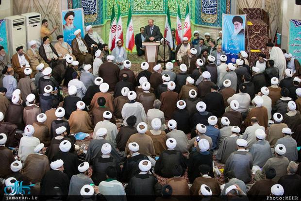 دیدار قالیباف با روحانیون تهران + تصاویر