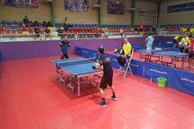 دور نخست مسابقات تنیس روی میز تور ایرانی در قزوین برگزار شد