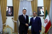 دیدار وزیر خارجه انگلیس با علی شمخانی