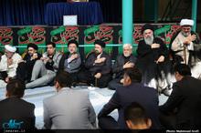 مراسم عزاداری هیئت پیروان پیر جماران در حسینیه جماران