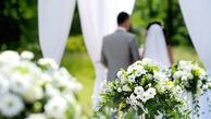 عروس امریکایی  13000 ساقدوش داشت