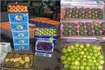 کشف پنج تن میوه قاچاق در یزد