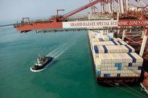 ارزآوری ۱۹ میلیون دلاری صادرات کالای غیرنفتی از بندر جاسک به عمان