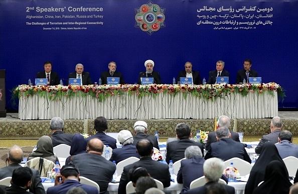 رؤسای مجلس ۶ کشور بر اجرای کامل تعهدات برجام از سوی اروپاییها تأکید کردند