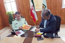 دانشگاه خلیج فارس با نیروی انتظامی بوشهر تفاهمنامه همکاری امضا کرد