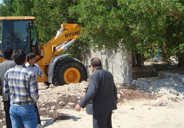321  بنای غیر مجاز در اراضی البرز تخریب شد