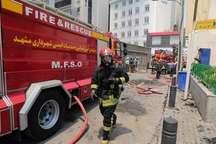 حال عمومی آتش نشانان مصدوم حادثه حریق هتل در مشهد مساعد است