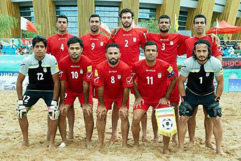 ملی پوشان فوتبال ساحلی با بحرین، چین، مالزی و افغانستان هم گروه شدند