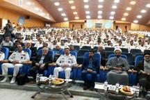 شب خاطره دفاع مقدس دردانشگاه علوم دریایی نوشهر برگزار شد