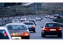 ترافیک در جاده های همدان نیمه سنگین شد